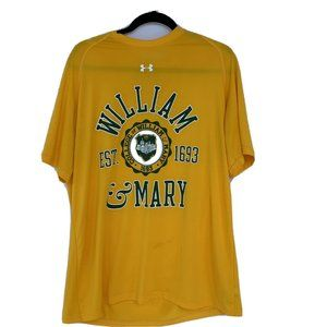 William & Mary Tribe Under Armour T Shirt Loose Ge